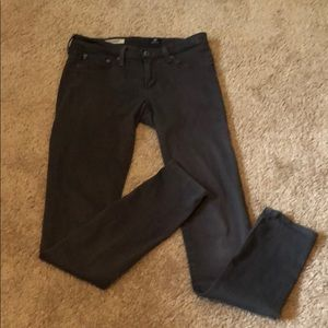 AG Adriano Goldschmied the legging Gray Jeans 26R